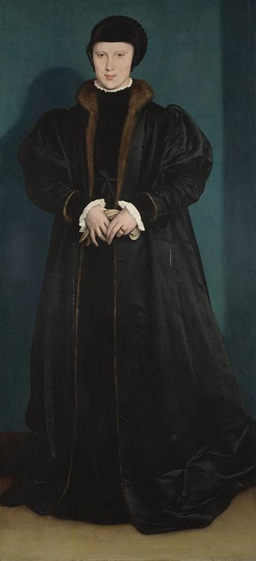 Hans Holbein d.J. Christina von Dänemark
